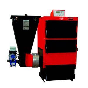 Твердотопливный жаротрубный котел Roda EK3G/S-100 электророзжигом и механической подачей топлива