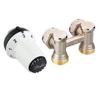 Комплект термостатический угловой Danfoss RAS-CK+RLV-KS 1/2 (013G5276)
