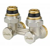 Н-образный клапан Danfoss RLV-KS 1/2-3/4 угловой