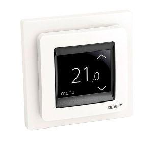 Терморегулятор DEVI Devireg Touch White (Белый)