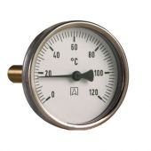 Термометр аксиальный Afriso Bith 63, 0-60°C, 1/2 (шток 45 мм)