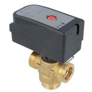 Переключающий 3-ходовой клапан Afriso AZV643 G 1 DN20 kvs 8 (с кабелем) (1664300)  - Фото 1