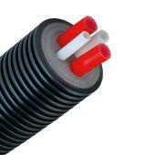 Предизолированная труба AustroISOL combi PE-Xa 2-32x2.9+1-25x3.5/175мм (A175H32S2520)