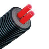 Предизолированная труба AustroISOL double PE-Xa 2-25x2.3/90мм (A090225)