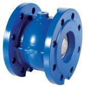 Фланцевый пружинный обратный клапан Brandoni F5.000 PN16 DN 65 (F5.00006516A)