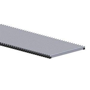 Решетка Carrera Сатин HT 230/3000 металлическая - Фото 1
