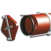 Герметическая заглушка со скобами DUKER SML 100 мм