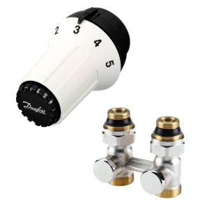 Комплект термостатический прямой Danfoss RAS-C+RLV-KS 1/2 (013G5277)