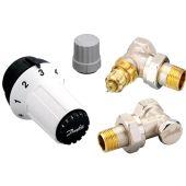 Комплект термостатический угловой Danfoss RA-FN+RAS-C+RLV-S 1/2 (013G5253)
