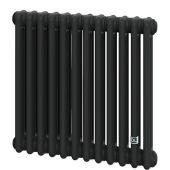 Трубчатый радиатор DeLonghi Multicolumn 570 3 колонны 12 секций RAL9005МATT (0Q1030570120000RAL9005М)
