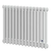 Трубчатый радиатор DeLonghi Multicolumn 570 3 колонны 14 секций RAL9016 (0Q0030570140000)