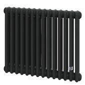 Трубчатый радиатор DeLonghi Multicolumn 570 3 колонны 14 секций RAL9005МATT (0Q1030570140000RAL9005М)