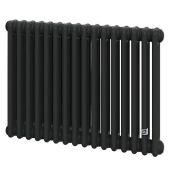 Трубчатый радиатор DeLonghi Multicolumn 570 3 колонны 16 секций RAL9005МATT (0Q1030570160000RAL9005М)