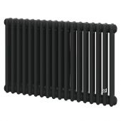 Трубчатый радиатор DeLonghi Multicolumn 570 3 колонны 18 секций RAL9005МATT (0Q1030570180000RAL9005М)