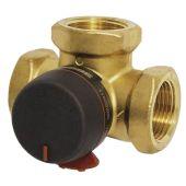 Поворотный переключающий 3-ходовой клапан VRG231 ESBE Rp 1 1/4 DN32 kvs 16
