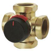 Поворотный смесительный 4-ходовой клапан VRG141 ESBE Rp 1 1/2 DN40 kvs 25