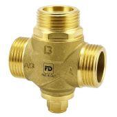"""Трехходовой антиконденсатный клапан Fado 1"""" 55 °С Kv 3.2 (AKP01)"""