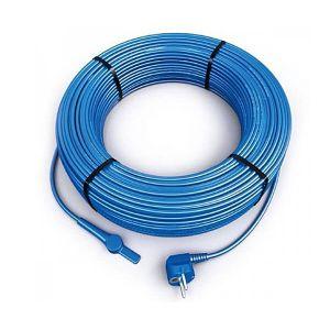 Двужильный нагревательный кабель Hemstedt FS 10 360 Вт со встроенным термостатом и вилкой для оборева труб - Фото 1