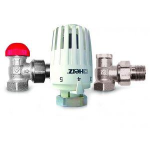 Термостатичеcкий комплект угловой HERZ Project TS-90-V 1/2 (V772463)