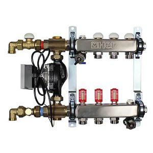 Модуль регулирования для напольного отопления Herz COMPACTFLOOR Light SK, 4 отвода (без насоса) (3F53374)