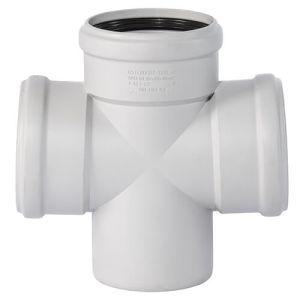 Крестовина для внутренней канализации Ostendorf SKOLAN-dB 110/110/87 (335900) - Фото 1