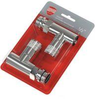 Комплект дизайн-вентилей Royal Thermo PIAN 1/2 (хром) прямой