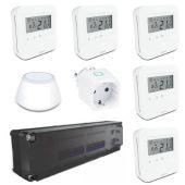 Комплект управления теплым полом на пять зон Salus Smart UFH Set 5vision (51120201613)
