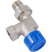 Термостат. клапан Schlosser DN 15 GZ 1/2xGW1/2 аксиальный