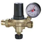 Подпиточной клапан Watts ALIMAT ALM с манометром для закрытых систем отопления 1/2 НР х 1/2 ВР
