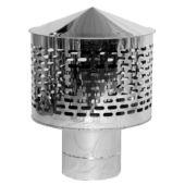 Искрогаситель дымоходный нерж Ø160 0.6 мм
