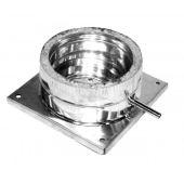 Подставка дымоходная напольная нерж 150/220 0.6 мм