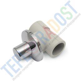 KAN-therm РР Запорный проходной вентиль для скрытого монтажа (декор. крышка) (thumb25609)