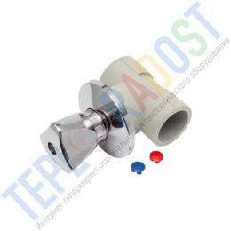 KAN-therm РР Запорный проходной вентиль для скрытого монтажа (thumb25605)