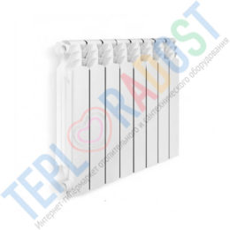 Алюминиевый радиатор Alltermo (thumb31076)