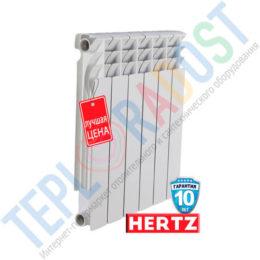 Биметаллический радиатор Hertz 500 80 фото