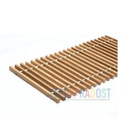 Решетка дубовая для внутрипольного конвектора Polvax шириной 245 мм (thumb61706)
